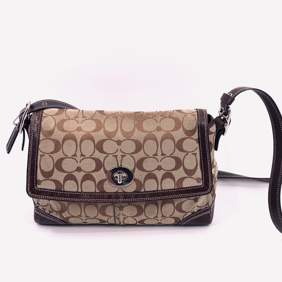 Coach Handbags - COACH Hampton Flap cross-body shoulder bag F13972